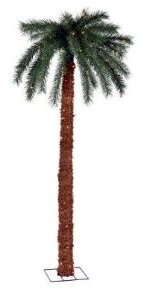 7 Foot Palm Tree with 150 Pre-Strung Lights
