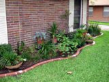 Click to buy Argee Let's Light It 40-Foot Decorative Plastic Brick Edging with 6 Built-In Solar Lights, Terra Cotta from Amazon!