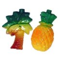 PINEAPPLE-Palm Tree TROPICAL PATIO String Lights