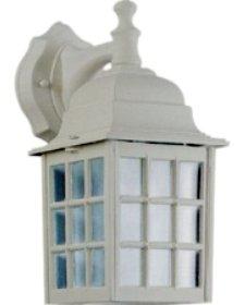 Quorum Thomasville Down Wall Lantern-White