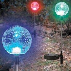 Solar Powered Garden Balls