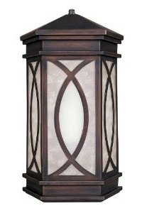 World Imports Lighting Wall Sconce, Aged Copper