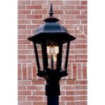 Natural Gas Outdoor Lighting Post Mount