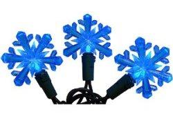 LED Snowflake Christmas Lights