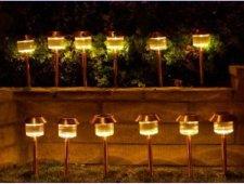 Copper Garden Landscape Solar Lights